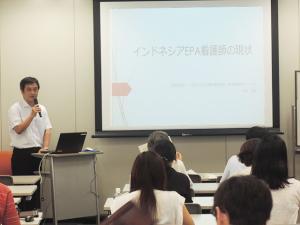 日本語講師からの現状報告